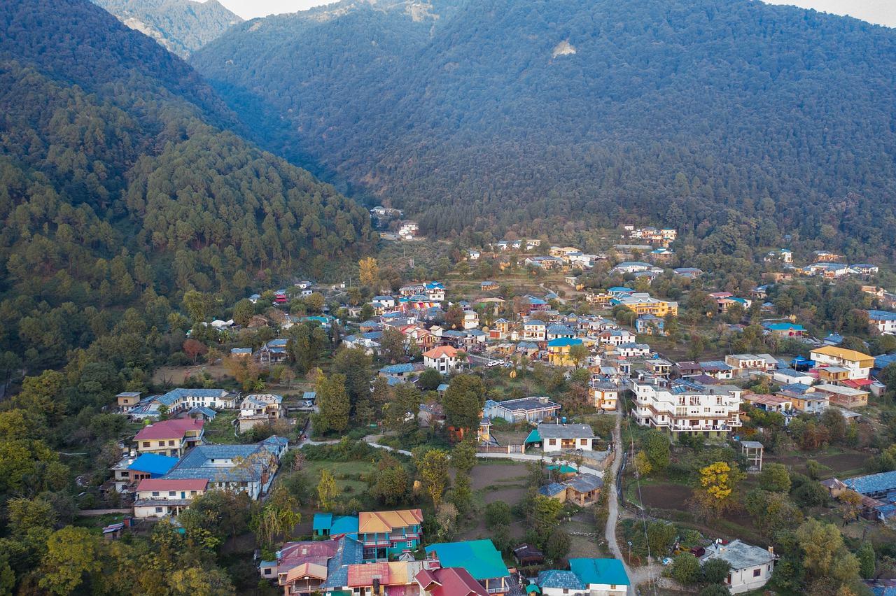 nature, himachal pradesh, homes in hills-4685851.jpg